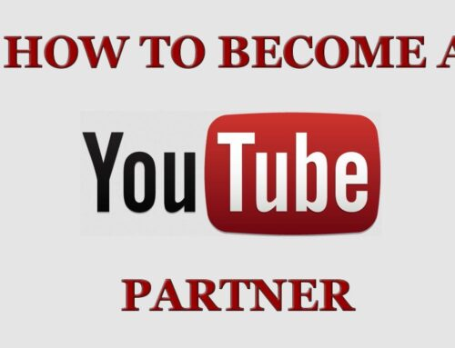 How to become Youtuber partners?